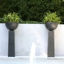 contemporary planter boxes with amazing transparent gold newest