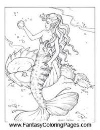 Small Picture 16 beautiful mermaids PDF format and sizeed for 85 x 11 paper so