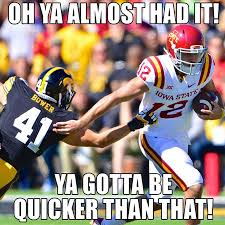 Football Meme State Funny Cyclone Cyclones Iowa Memes Football