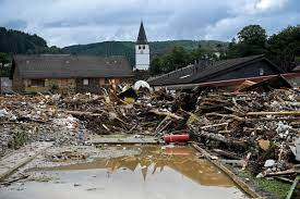 Almanya'da sel felaketi görüntülendi - İhlas Haber Ajansı
