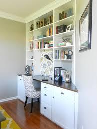 built in desk and built in desk bookcase wood burning