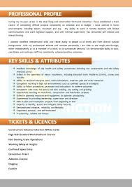 Skilled Trades Resume Examples Skilled Trade Resume 024 Construction Resumes