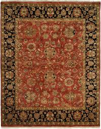 details about 12x18 kalaty red leaves iris petals bordered area rug jp 438 aprx 12 x 18