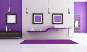 purple bathroom accessories sets