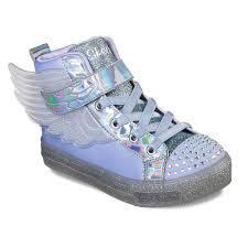 Sketchers Light Up Sneakers Skechers Twinkle Toes Shuffle Brights Sparkle Wings Girls