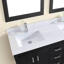 Studio Bathe Corniche 60 inch Double Bathroom Vanity Espresso ...