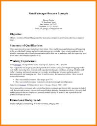 Retail Job Resume 100 basic resume examples for retail jobs letter adress 59
