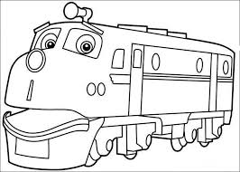 Small Picture Chuggington Coloring Pages