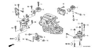 honda online store 2007 civic engine mounts 2 0l mt parts 2007 civic si nav 4 door 6mt engine mounts 2 0l