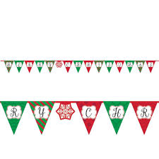 Pendant Banner Pennant Banner Christmas Victoria Party Store