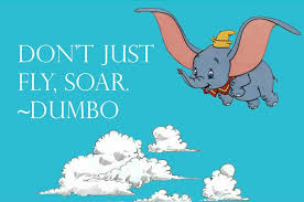 Dumbo Quotes Simple Dumbo Quotes Best Dumbo Quotes Wall Decal Disney Elephant Vinyl