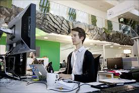 Image Inside Employees Work In Googles Munich Office Rediffmail Visit Googles Amazing Munich Office Rediffcom Business