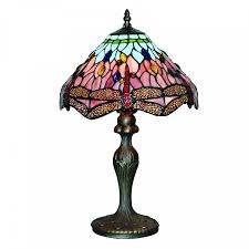 the mix of bright and beautiful colours on the glass detail of the lamp will certainly turn heads the antique brass has gentle curved detail which