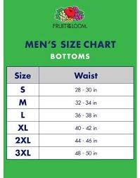 Fruit Of The Loom Sweatshirt Size Chart Fruit Of The Loom Big Mens Printed Woven Boxer Extended