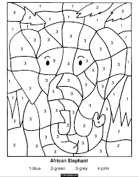 number coloring page free preschool pages numbers color by teach counting full size
