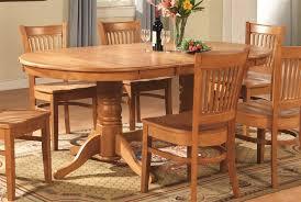 oak dining room set table gala co