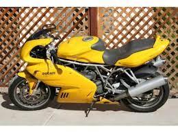 2002 ducati 750 sport motorcycles