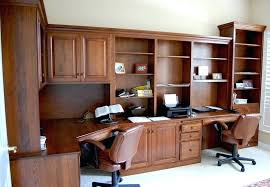 custom home office desk. Custom Home Office Desks Wall Units Inspiring Built Cabinets In Furniture L Shaped Wooden Made Desk