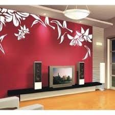 Small Picture White Vinyl Sticker Wall Decal for Bedroomliving room Flower