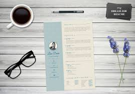 My Dream Job Resume Template Cover Letter