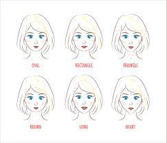 顔型別似合う前髪診断 Hair