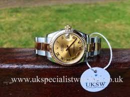 rolex watches uk new pre owned second hand rolex watches rolex datejust steel 18ct yellow gold 31mm 178273 £4 995 00 uk specialist watches