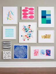 9 easy diy wall art ideas