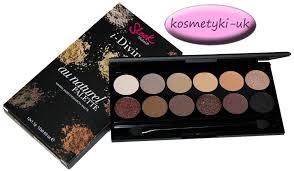 sleek make up au naturel 601 paleta 12 cieni