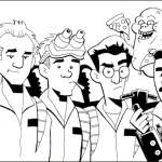 Small Picture Ghostbusters Coloring Pages Bebo Pandco