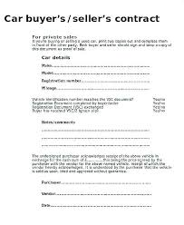 Purchase Agreement Samples Selling A Car On Payments Contract Motorcycle Purchase Agreement