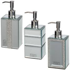 bathroom soap dispensers wall mounted. Minimalist Bathroom Soap Dispensers Mirrored Diamante Dispenser Home B M Wall Mounted R