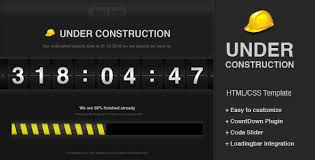 countdown templates under construction countdown template template