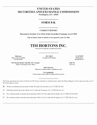 Resume Samples For Tim Hortons Resume Samples for Tim Hortons Elegant Tim Hortons Inc United States 1