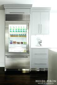 inspired glass door refrigerator vogue new contemporary kitchen decorating ideas with sub zero bi commercial v