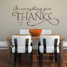 Decals For Kitchen Cabinets Biblical Vinyl Wall Decals Kitchen Bible Quote Removable