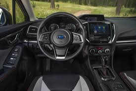 2018 subaru updates. plain subaru while the exterior changes were modest updates to interior of 2018  subaru crosstrek are far more striking nearly everything has changed  inside subaru