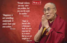enlightenment through wisdom his holiness the dalai lama you i the dalai lama a that stands for ocean of wisdom is the head monk of tibetan buddhism and was traditionally in charge of governing of tibet