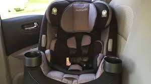 safety 1st car seat installation care