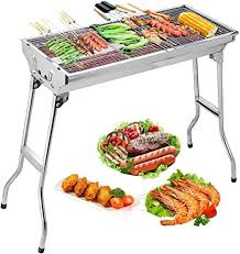 Uten <b>Barbecue Grill</b> Stainless Steel <b>BBQ Charcoal Grill</b> Smoker ...