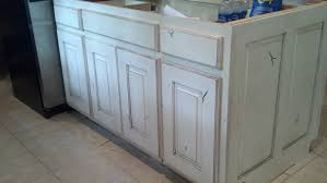 distressed white washed furniture. White Painted And Distressed Knotty Alder Cabinets Washed Furniture