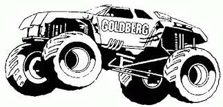 Coloring Pages Fabulous Printable Truck Coloringes Amazing Monster