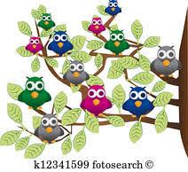 flock of birds clipart. Plain Clipart Funny Flock Of Colorful Birds For Flock Of Birds Clipart Y