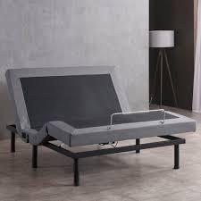 adjustable bed frame with massage. Exellent Bed OSleep Adjustable Bed Base With Massage Wireless Remote And USB Ports Inside Frame With L