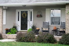 outdoor front porch furniture. Decoration Ideas. Exquisite Grey Wooden Wall Siding And White Jamb On Black Entry Door Outdoor Front Porch Furniture S