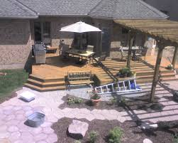 Backyard Deck Designs Plans Awesome Decorating