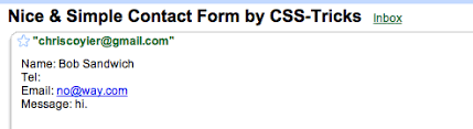 simple contact form a nice simple contact form downloadable css tricks