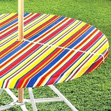 round outdoor tablecloth with umbrella hole unique patio table cloth for the most tags cover beautiful