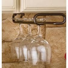 under cabinet wine glass rack fine under revashelf 15 in h x 425 w 11 on
