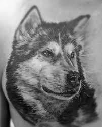 80 Siberian Husky Tattoo Designs For Men Dog Ink Ideas