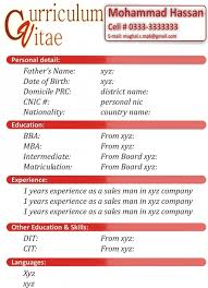 new format of cv latest resume sample download danaya us